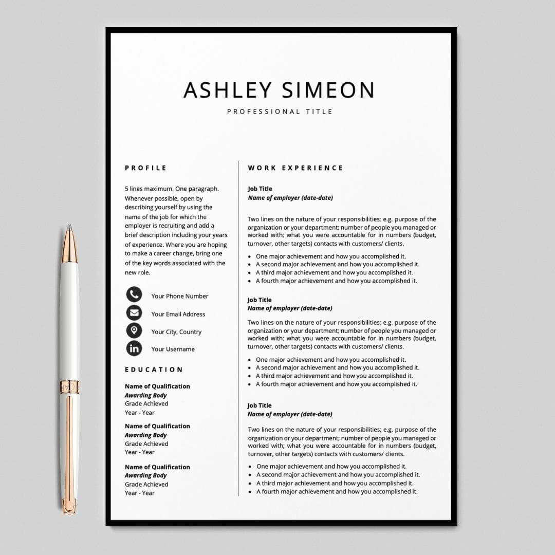Cover Letter For A Resume Template from careersoko.com