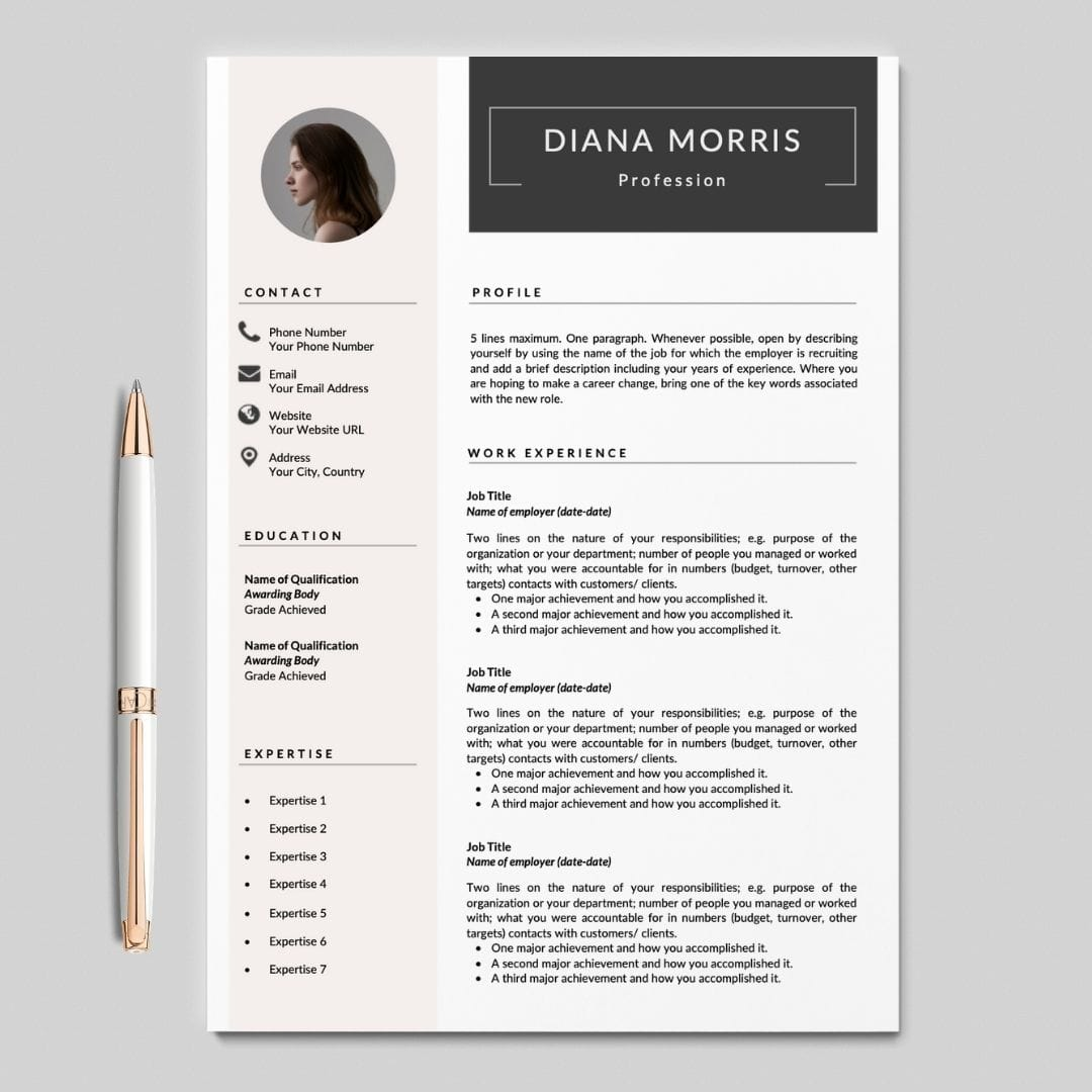 Cv Resume Template from careersoko.com