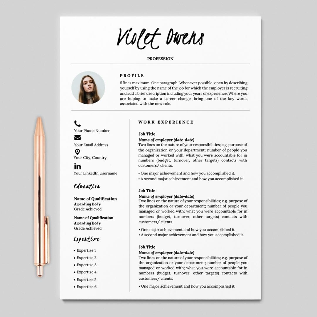 Cover Letter And Resume Format from careersoko.com