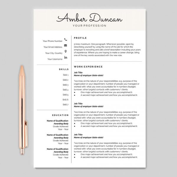 Google Docs Resume, Resume Template, Resume Design, Resume Cover Letter, CV Minimalist Resume, CV Template, Curriculum Vitae, CV Design, Resume Template Word, Free Resume Template, Google Docs Resume Template, Reference Page