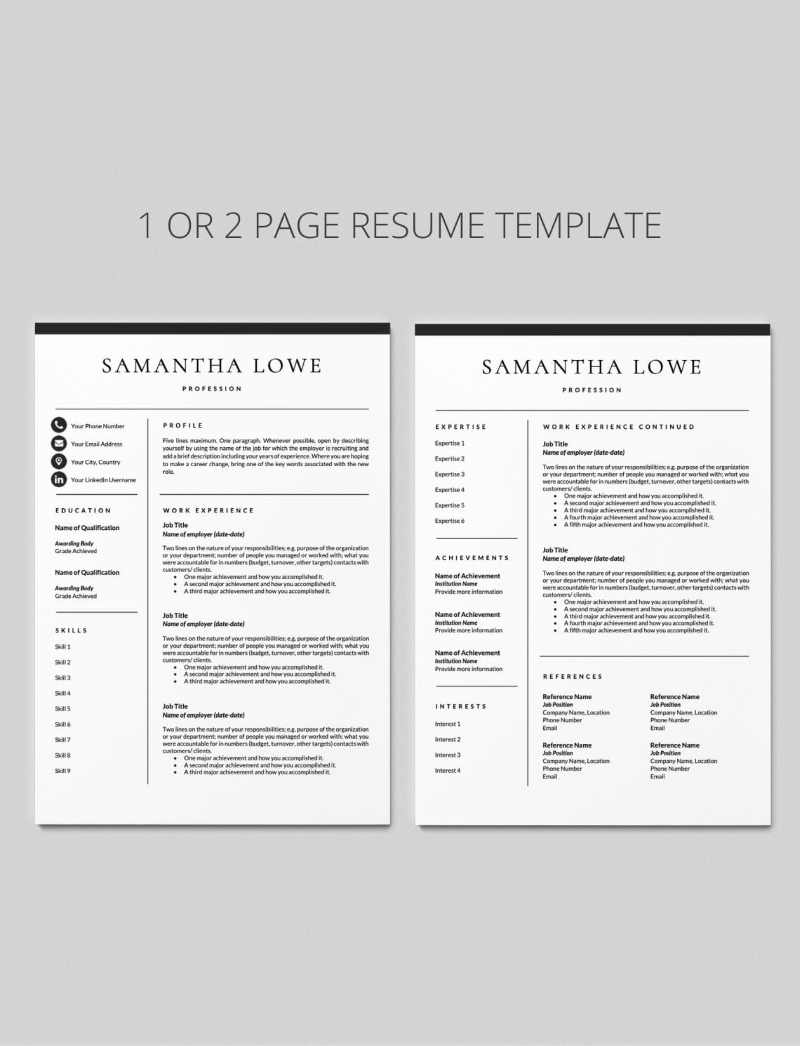 Cover Letter For Resume Template from careersoko.com