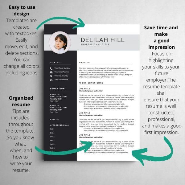 free resume template, resume templates, curriculum vitae template, free curriculum vitae template word, minimalist resume, cv template, 2 page resume template, curriculum vitae, cv design, resume templates